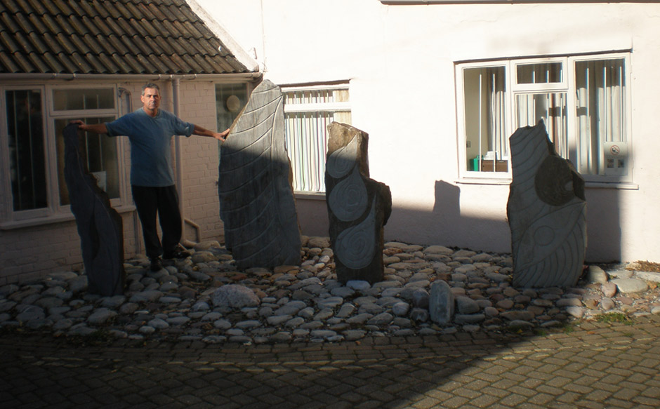 David with Standing Stones
